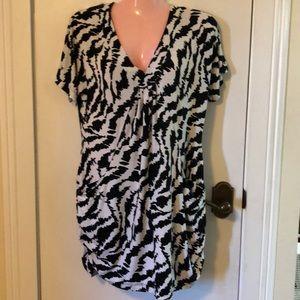 Beautiful black /white I.N.C. Dress or top